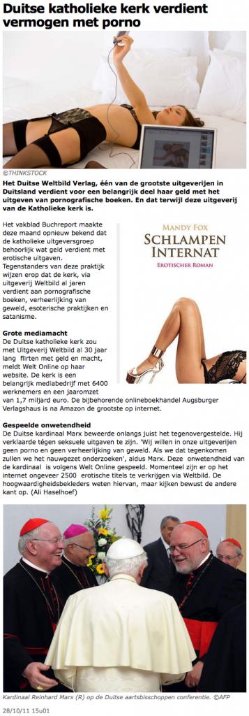 Duitse katholieke kerk verdient vermogen met porno - Buitenland - AD 2011-11-10 16-38-56