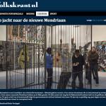 Op jacht naar de nieuwe Mondriaan: open ateliers Rijksacademie